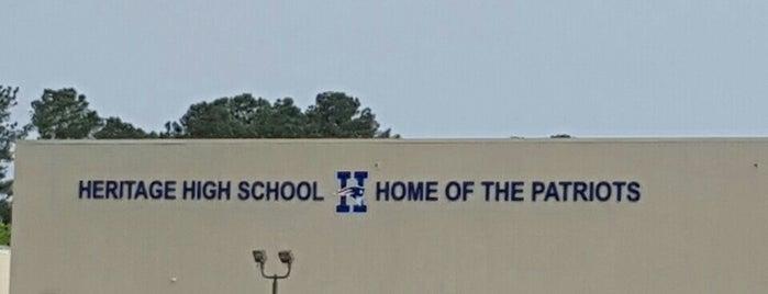 Heritage High School is one of สถานที่ที่ NupeKidd ถูกใจ.