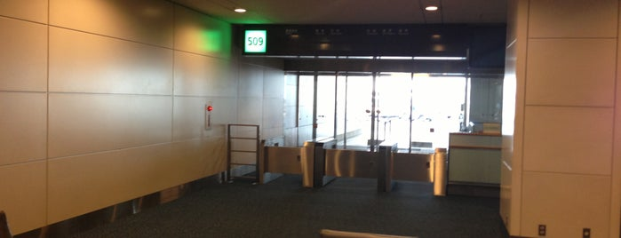 羽田空港 509番ゲート (HND - GATE 509) is one of 羽田空港 第2ターミナル 搭乗口 HND terminal2 gate.