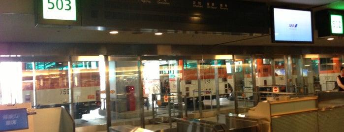 Gate 503 is one of 羽田空港 第2ターミナル 搭乗口 HND terminal2 gate.