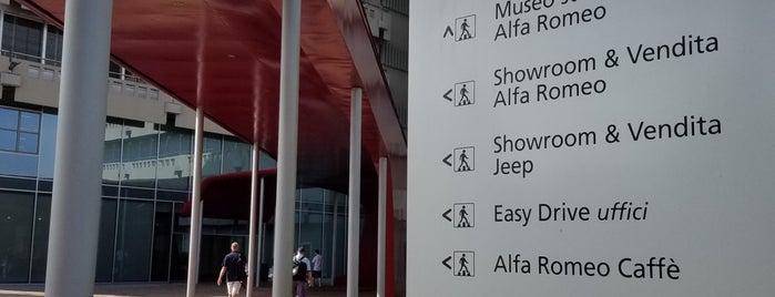 Museo Storico Alfa Romeo is one of สถานที่ที่ Veronika ถูกใจ.