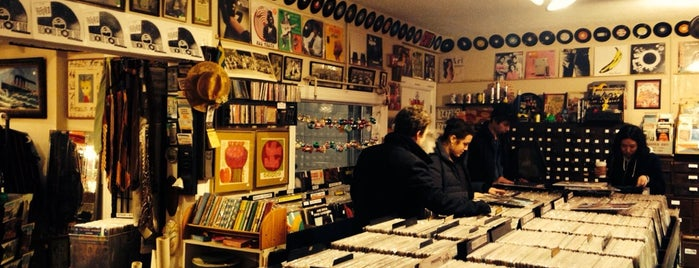 What Cheer Records + Vintage is one of Providence.