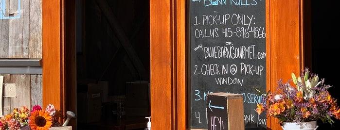 Blue Barn Gourmet is one of SF.