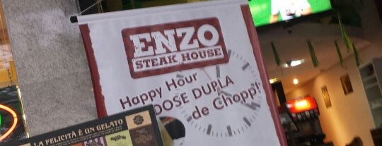 Enzo Pizza & Steak is one of Locais curtidos por Guilherme.