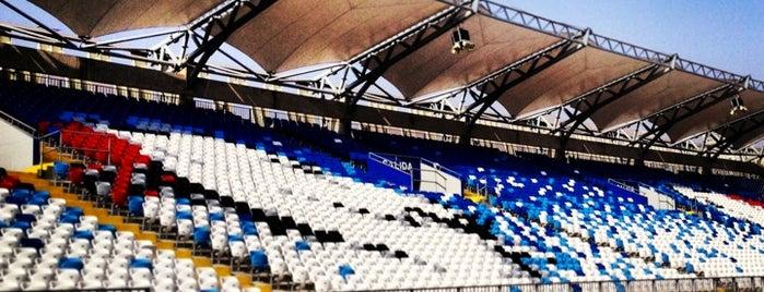 Estadio Regional Calvo y Bascuñan is one of Locais salvos de Luis.