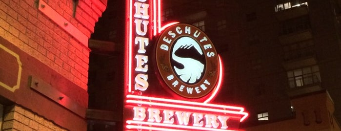Deschutes Brewery Portland Public House is one of Breweries in the USA I want to visit.