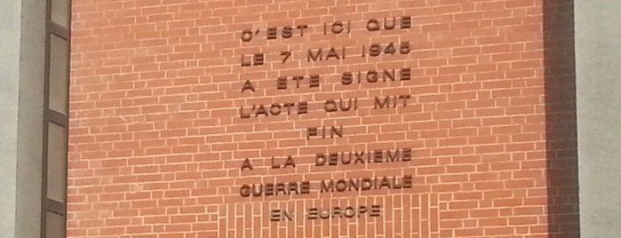 Musée de la reddition is one of Orte, die Allison gefallen.