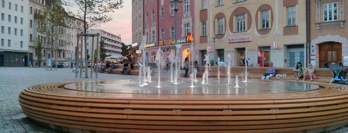 Am Harras is one of Munich - Haidhausen, Max-, Isar- & Ludwigvorstadt.