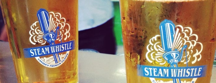 Steam Whistle Brewing is one of Lugares favoritos de Ranna.