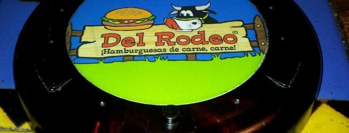 Hamburguesas del Rodeo is one of Lieux qui ont plu à Pedro.