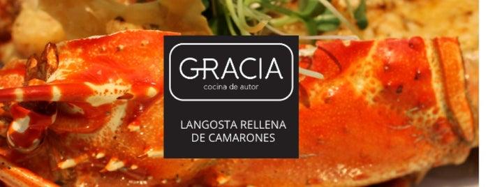 Gracia - Cocina de Autor is one of Locais salvos de Georban.