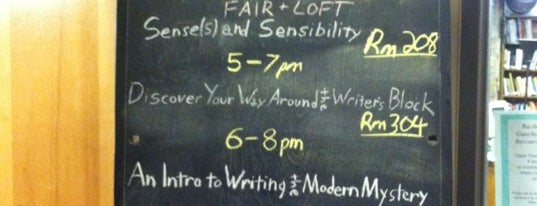 The Loft Literary Center is one of All The Places I Can Think of That I've been.