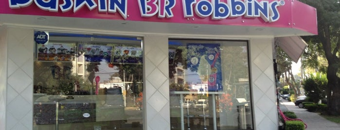 Baskin Robbins is one of Lieux qui ont plu à Jorge.