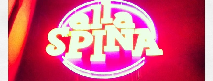 Alla Spina is one of Foobooz Best 50 Bars in Philadelphia 2012.