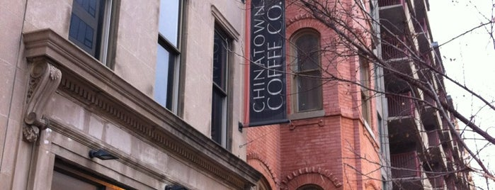 Chinatown Coffee Company is one of Best Coffee Cafes in DC.