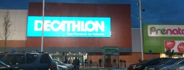 Decathlon San Fernando de Henares is one of Juan carlos : понравившиеся места.