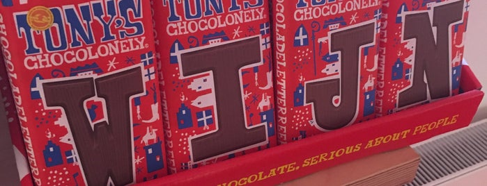 Tony's Chocolonely Super Store is one of amsterdam.