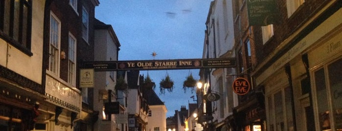 Stonegate is one of York Places To Visit.