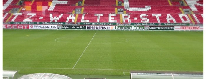 Fritz-Walter-Stadion is one of International Sports~Part 1....