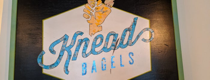 Knead Bagels is one of Philly.