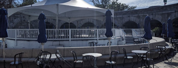 Boat Basin Cafe is one of nyc - outdoor wine/dine.