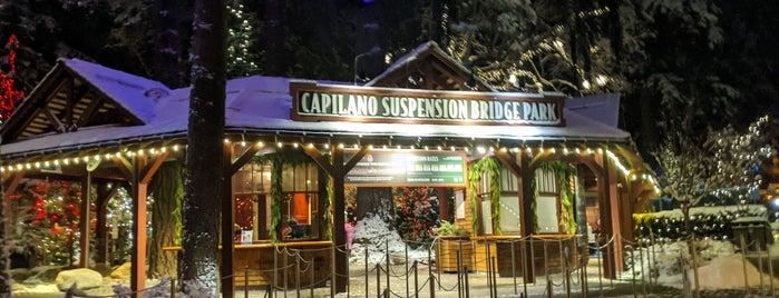 Capilano Park is one of สถานที่ที่บันทึกไว้ของ Heloisa.