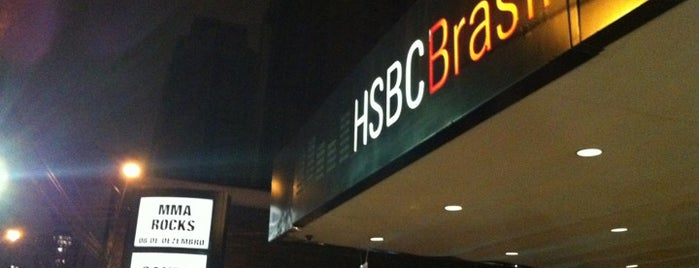 HSBC Brasil is one of Locais curtidos por Gustavo.