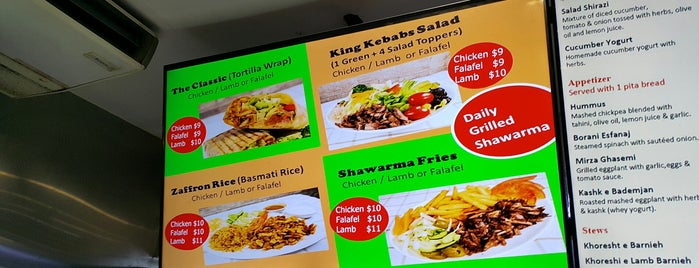 King Kebabs is one of Singapore Lunch Places.
