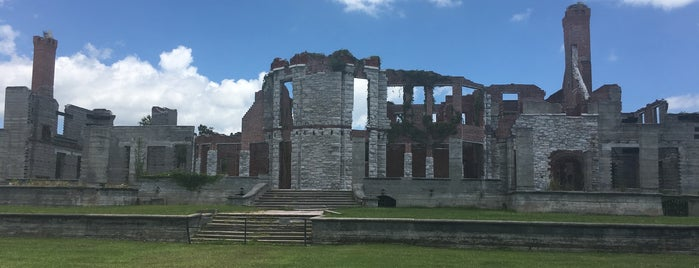 Dungeness Ruins On Cumberland Island is one of Ashleighさんの保存済みスポット.