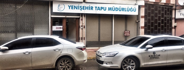 Yenişehir Tapu Sicil Müdürlüğü is one of Hasan : понравившиеся места.