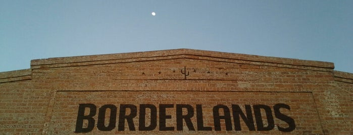 Borderlands Brewing Company is one of T-Town.