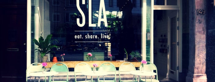 SLA is one of Amsterdam, I'm not a tourist, but a mobile citizen.
