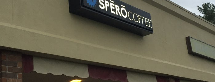 SPERO Coffee is one of Tempat yang Disukai Andrew.
