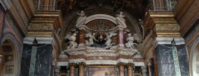 Chiesa di Gesu e Maria al Corso is one of Rome.