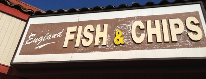 England Fish & Chips is one of South Bay 'pacifically.