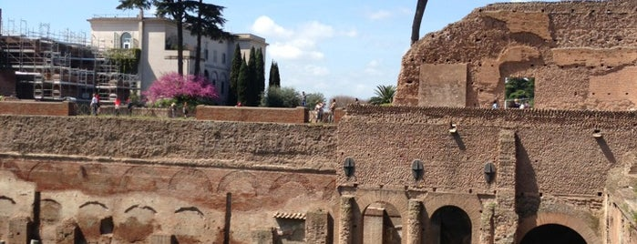 Palatino is one of Rome.