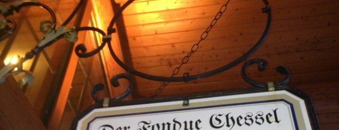 Der Fondue Chessel is one of Keystone, CO.