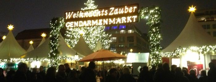 Weihnachtszauber Gendarmenmarkt is one of Allemagne ♥︎.