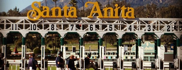 Santa Anita Park is one of Lieux qui ont plu à icelle.