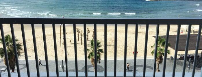 Sea Executive Suites Tel Aviv is one of Randy : понравившиеся места.