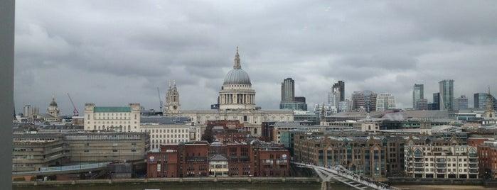 เทต โมเดิร์น is one of London's great locations - Peter's Fav's.