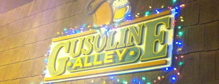 Gusoline Alley is one of Detroit.