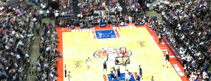 The Palace of Auburn Hills is one of US Pro Sports Stadiums - ALL.