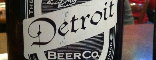 Detroit Beer Company is one of Michigan Breweries.