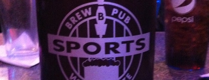 Sports Brew Pub is one of Breweries to Visit.