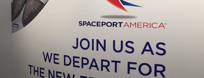 Spaceport America is one of Lieux sauvegardés par Аrtur.