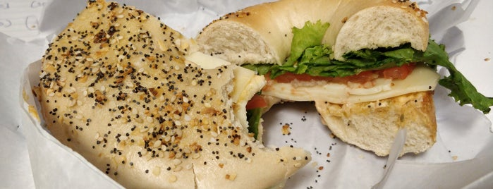 Corner Bagel Shop is one of Lugares favoritos de st.