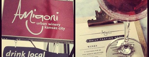 Amigoni Urban Winery is one of Kansas City.