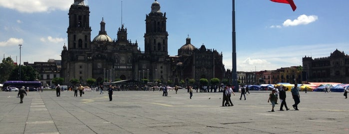 Plaza de la Constitución (Zócalo) is one of D.F..