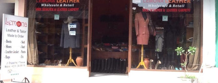 LEMONA leather and tailor seminyak is one of Bail , Indonesia.