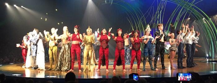 Cirque du Soleil - Amaluna is one of Andreina 님이 좋아한 장소.